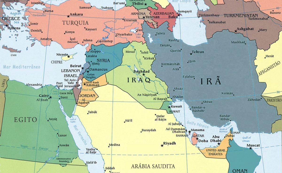 Entenda o conflito no oriente médio em 10 minutos